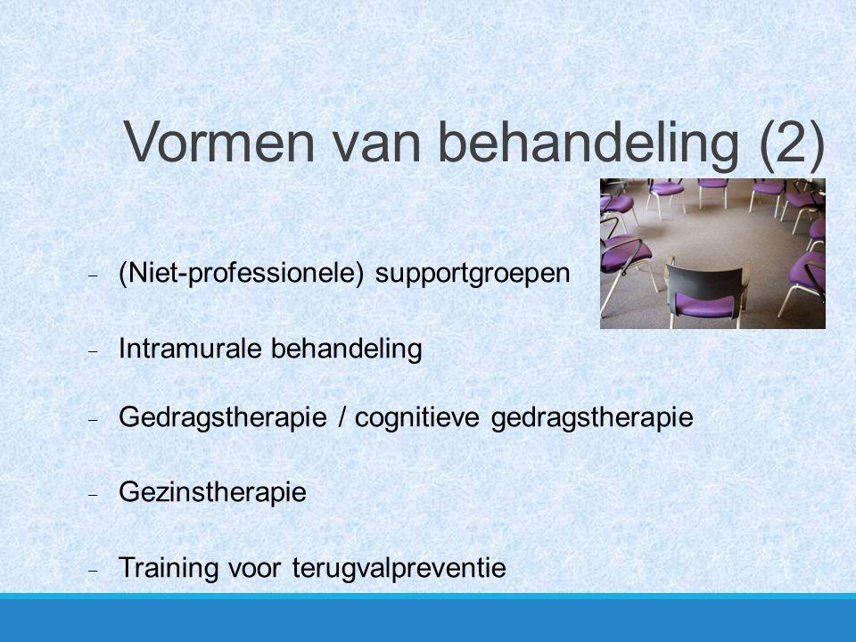 Vormen van behandeling (2)