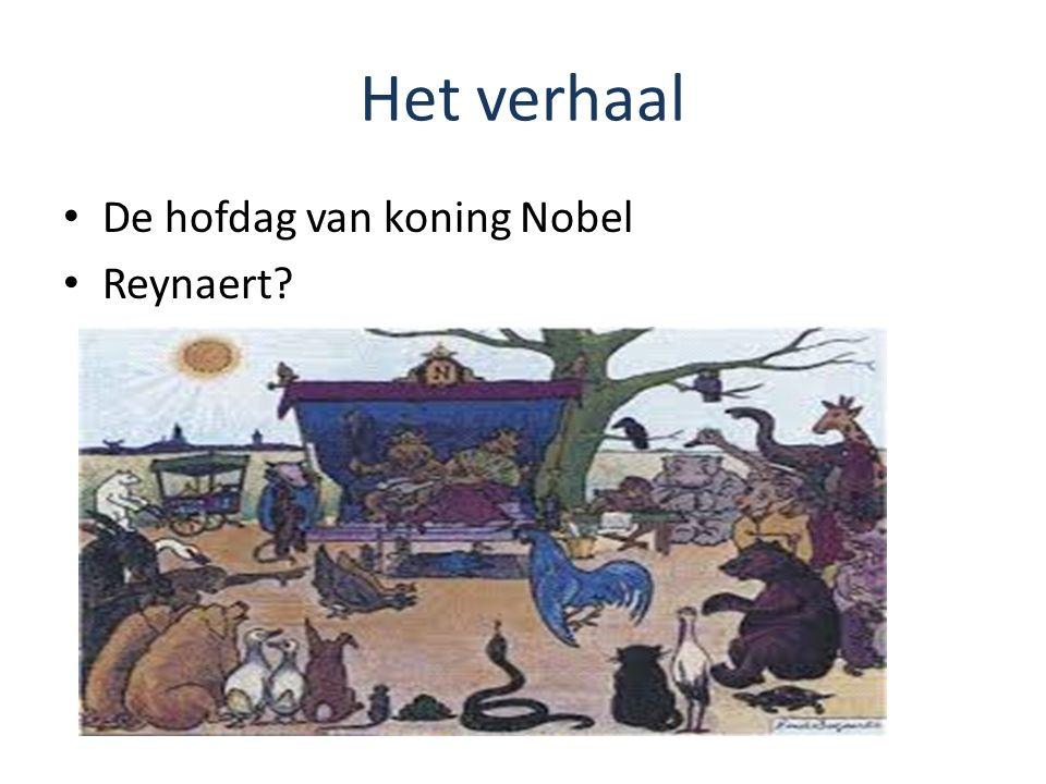 Het verhaal De hofdag van koning Nobel Reynaert