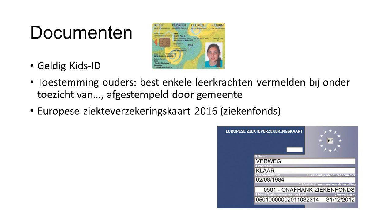 Documenten Geldig Kids-ID