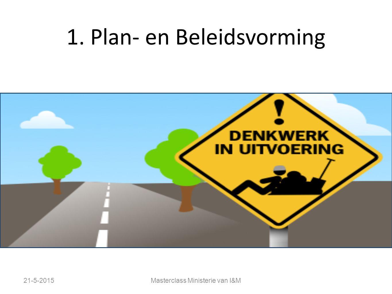 1. Plan- en Beleidsvorming