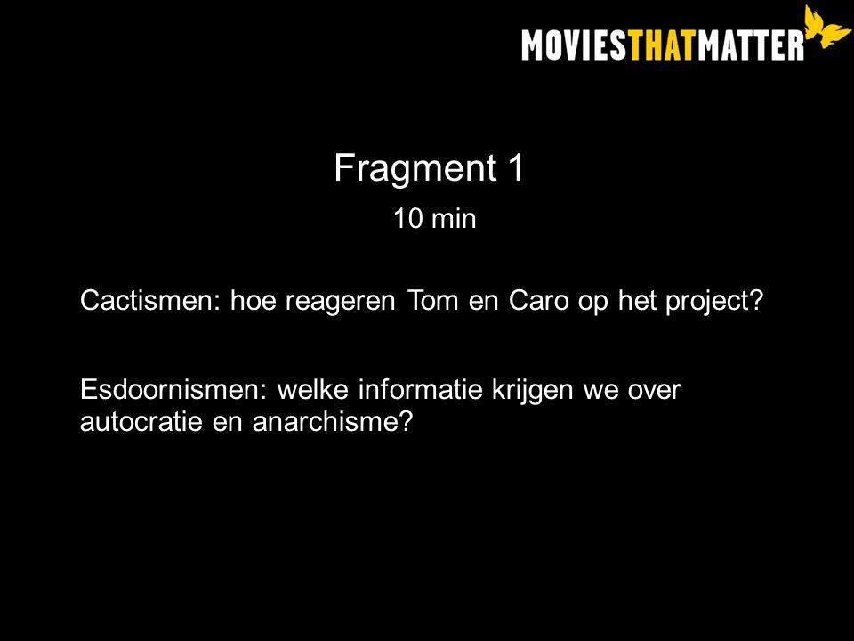 Fragment 1 10 min Cactismen: hoe reageren Tom en Caro op het project