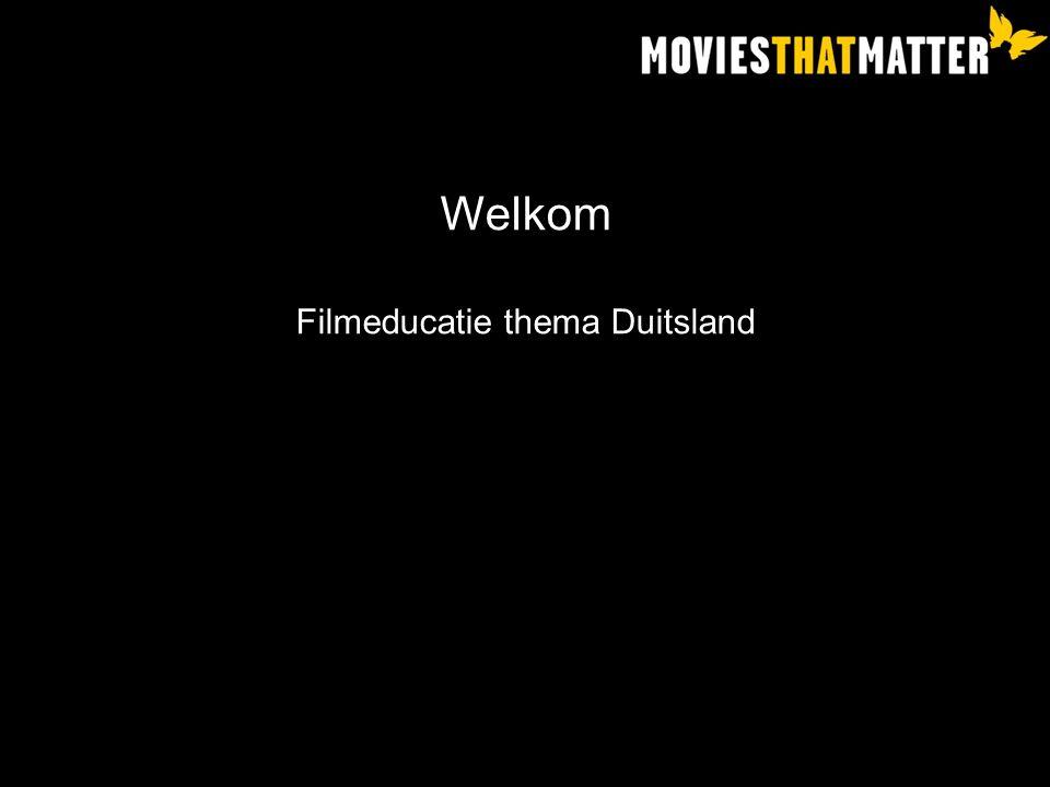 Filmeducatie thema Duitsland