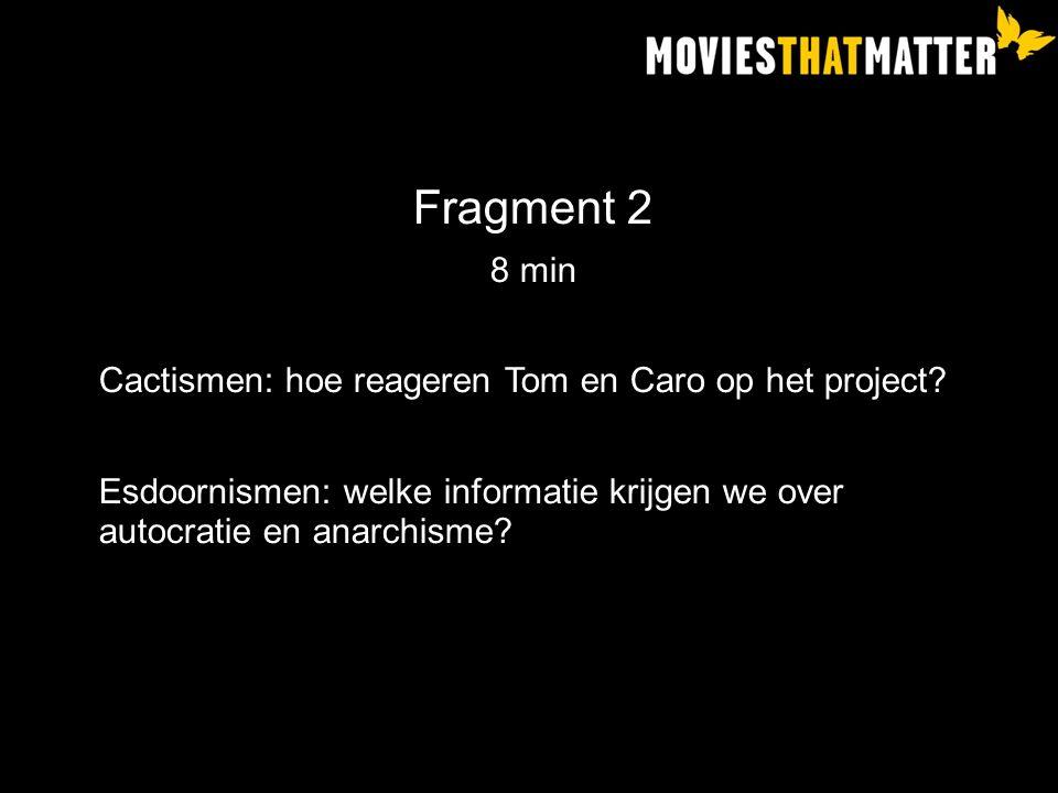Fragment 2 8 min Cactismen: hoe reageren Tom en Caro op het project