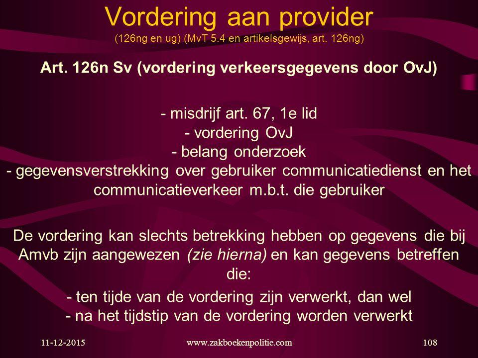 Art. 126n Sv (vordering verkeersgegevens door OvJ)