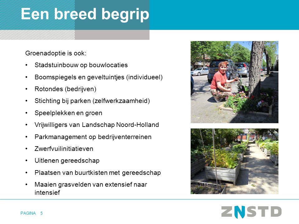 Een breed begrip Groenadoptie is ook: Stadstuinbouw op bouwlocaties