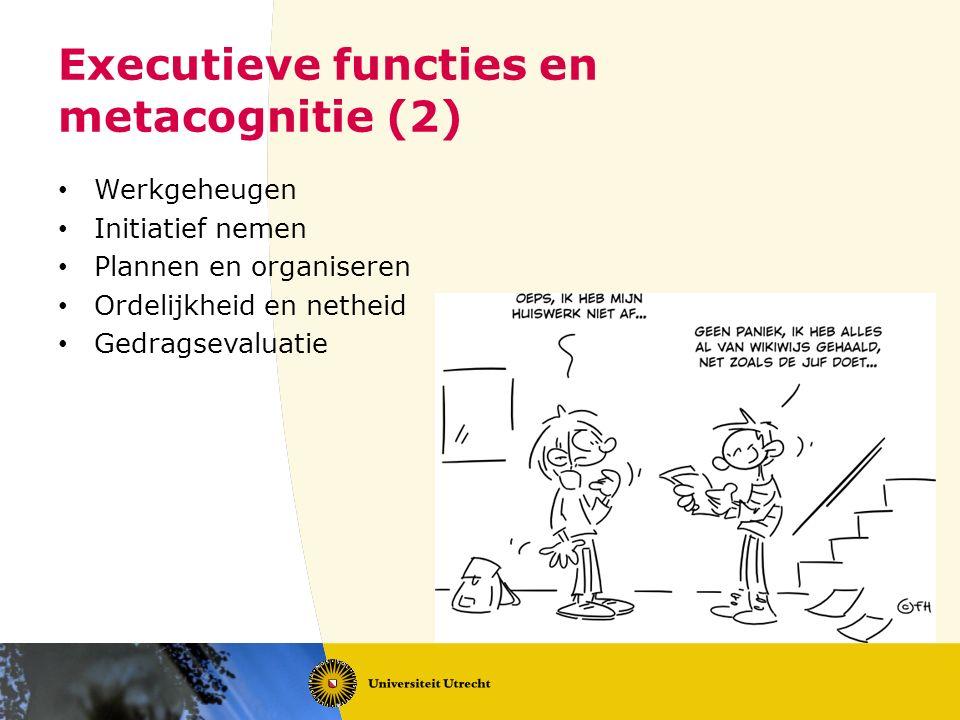 Executieve functies en metacognitie (2)