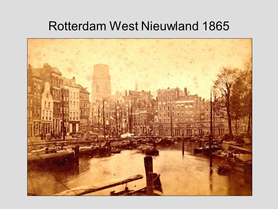 Rotterdam West Nieuwland 1865