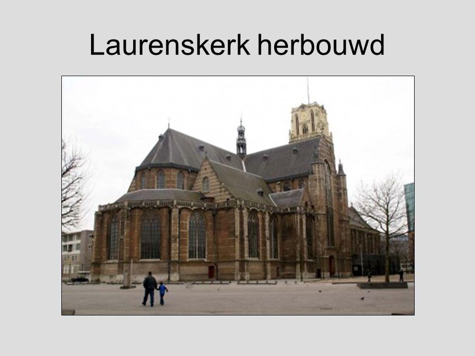Laurenskerk herbouwd