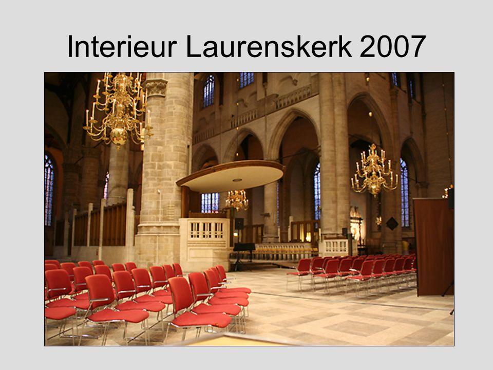 Interieur Laurenskerk 2007