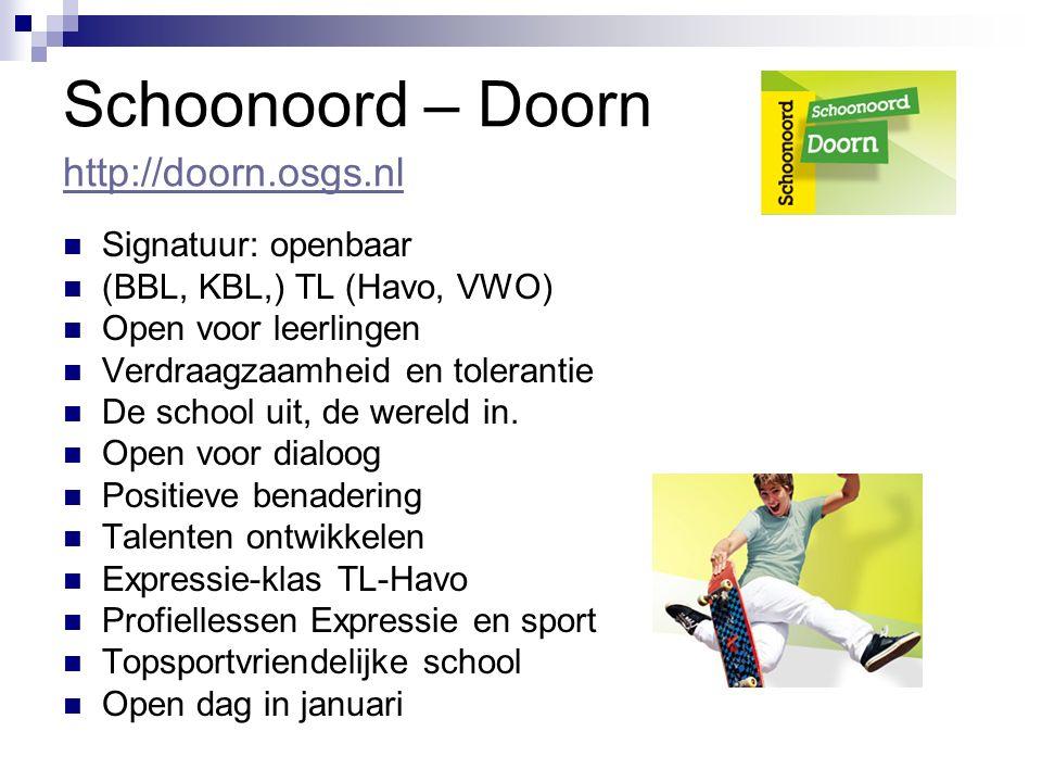 Schoonoord – Doorn http://doorn.osgs.nl