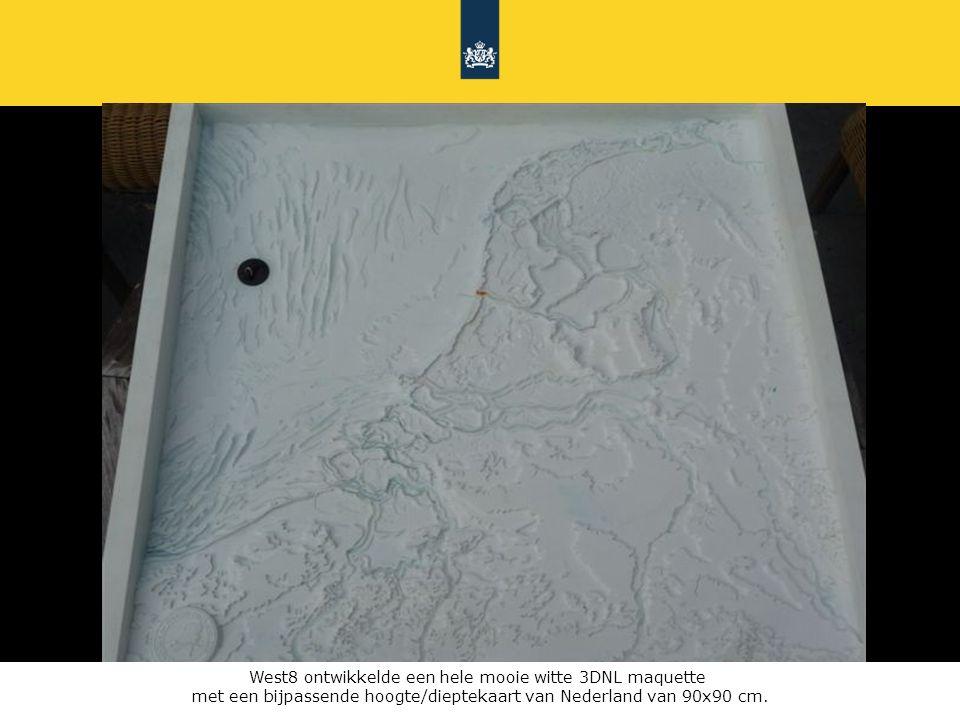 West8 ontwikkelde een hele mooie witte 3DNL maquette