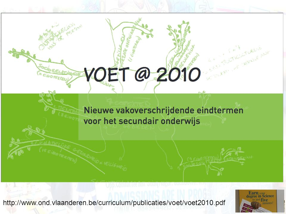 http://www. ond. vlaanderen. be/curriculum/publicaties/voet/voet2010