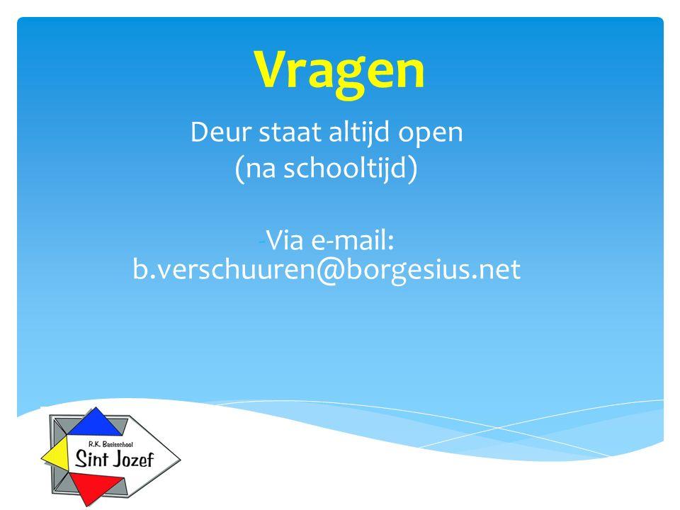 Via e-mail: b.verschuuren@borgesius.net