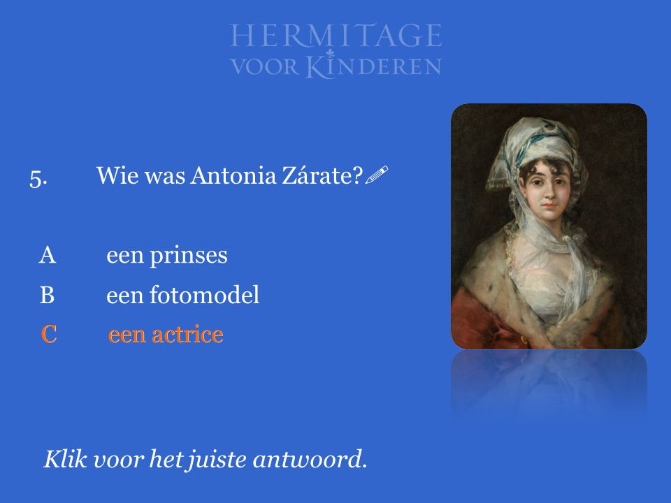 5. Wie was Antonia Zárate 