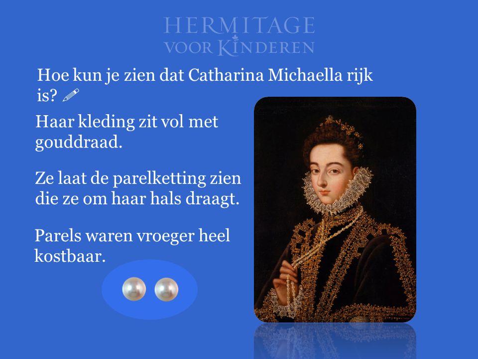 Hoe kun je zien dat Catharina Michaella rijk is 
