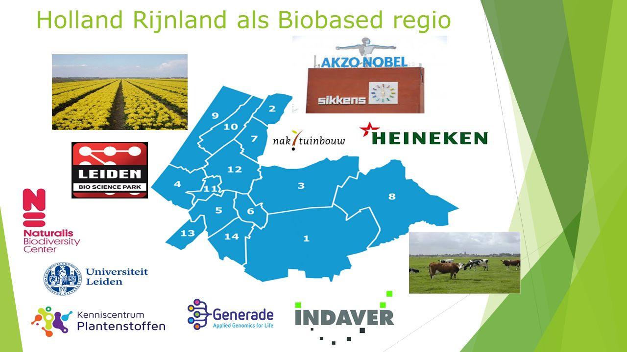 Holland Rijnland als Biobased regio