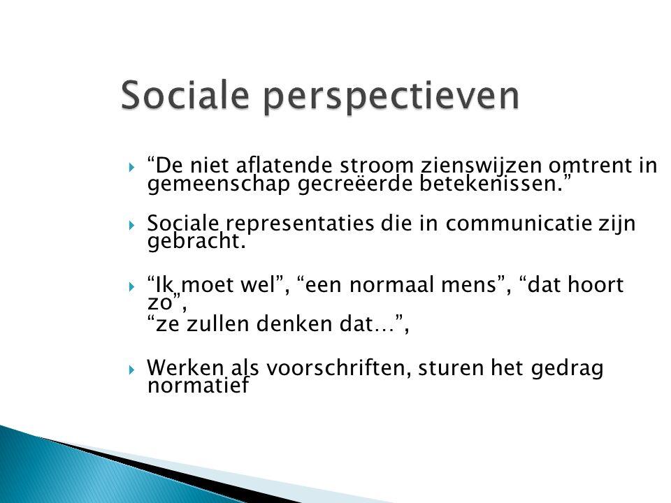 Sociale perspectieven