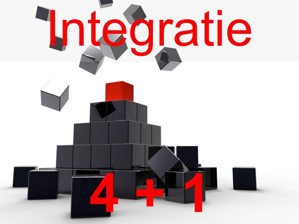 Integratie 4 + 1