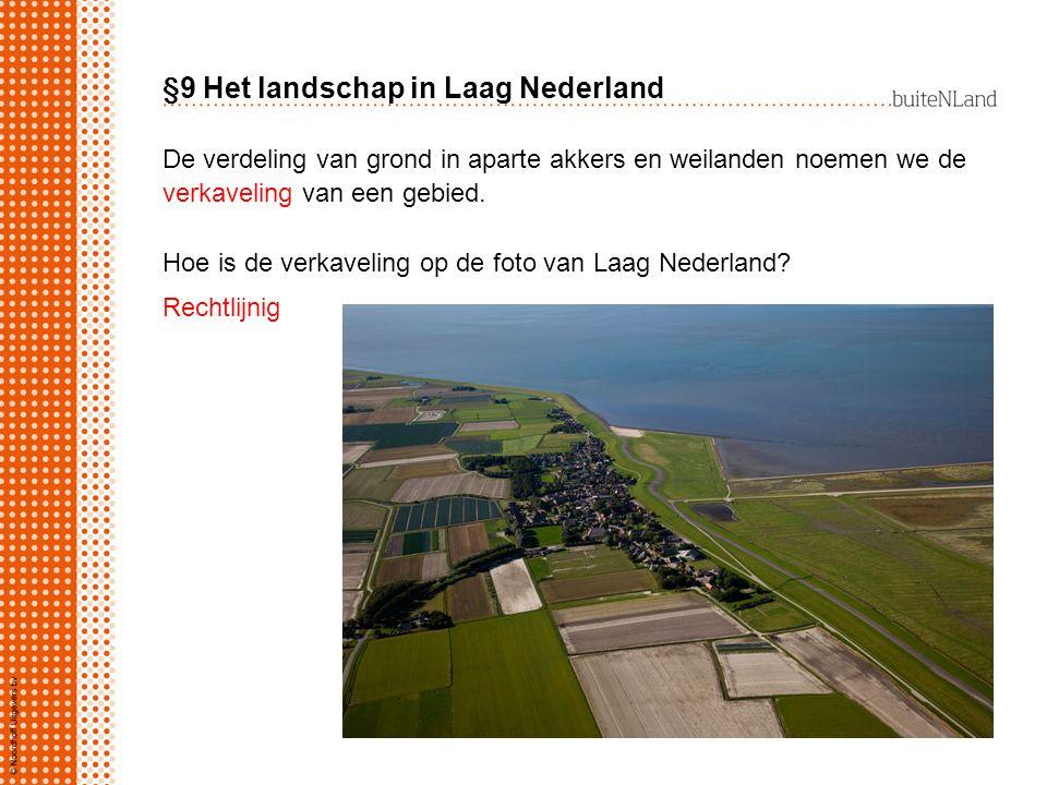 §9 Het landschap in Laag Nederland