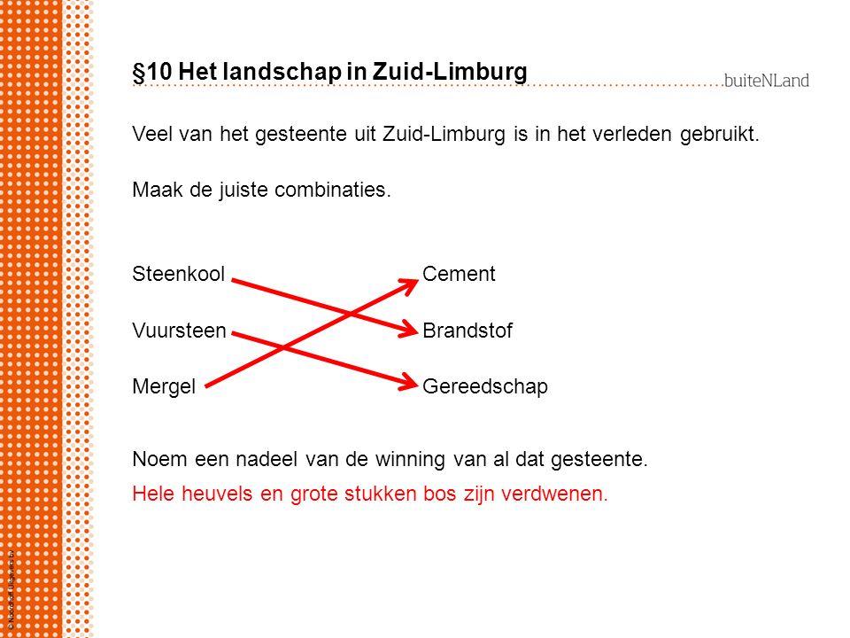 §10 Het landschap in Zuid-Limburg