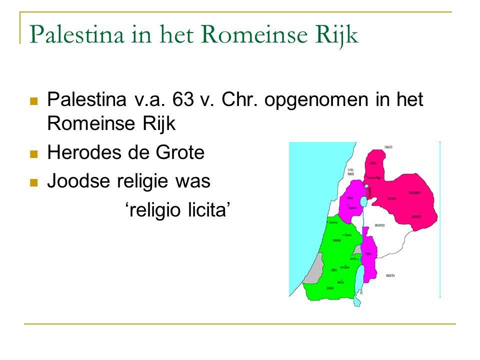 Palestina in het Romeinse Rijk