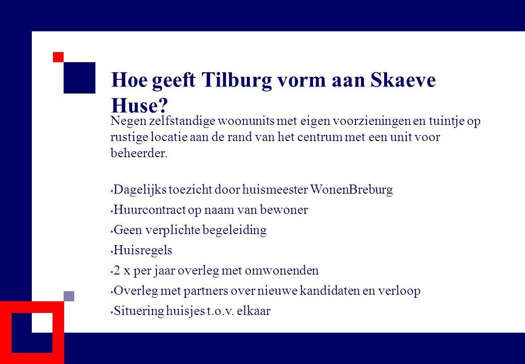 Hoe geeft Tilburg vorm aan Skaeve Huse