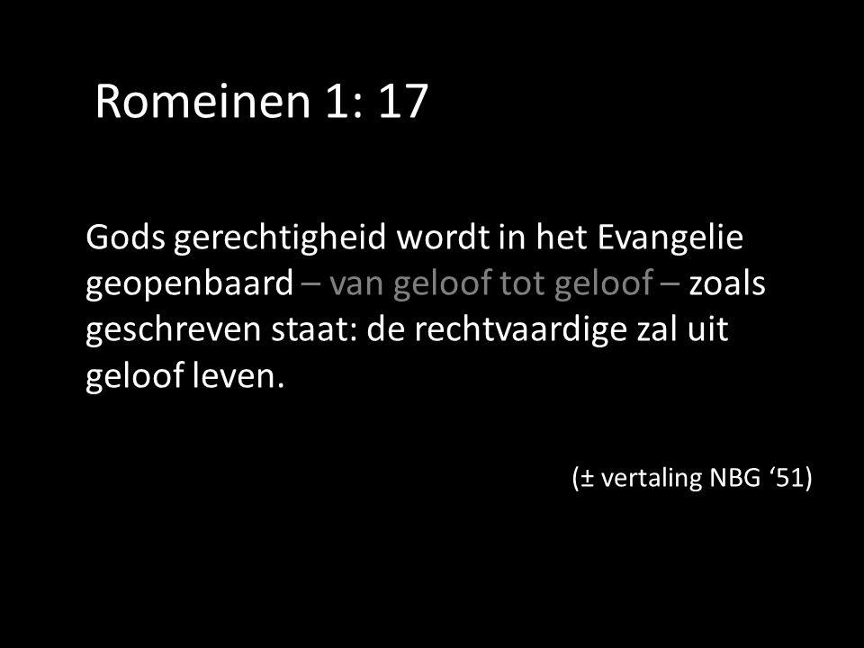Romeinen 1: 17