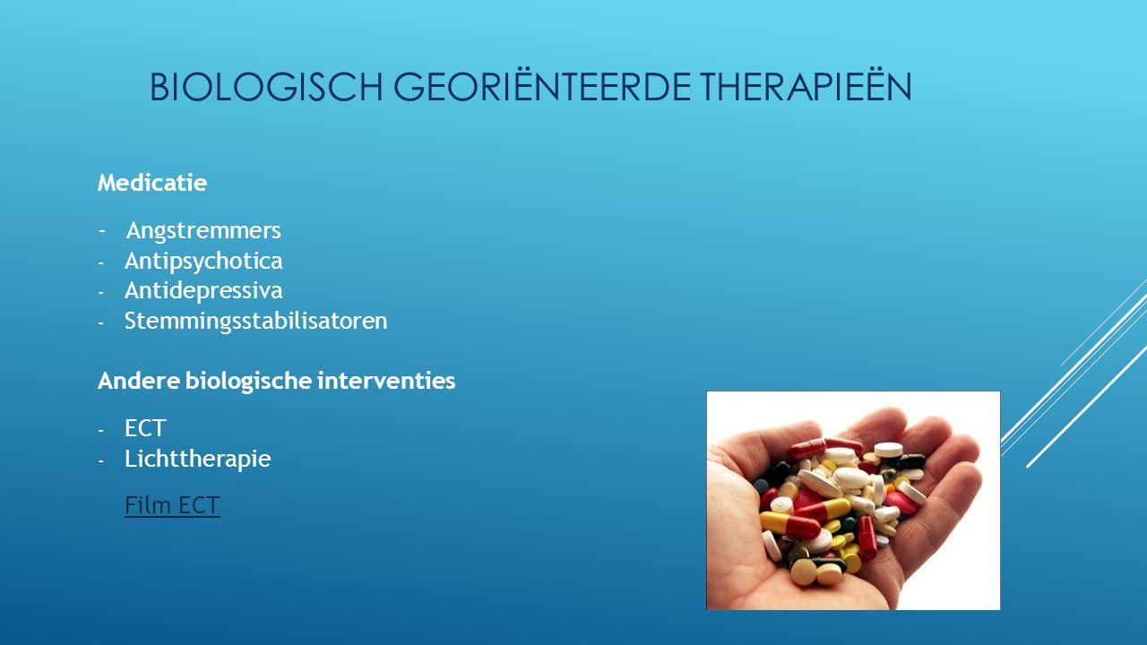Biologisch georiënteerde therapieën