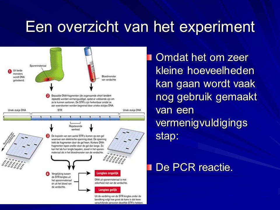 Een overzicht van het experiment