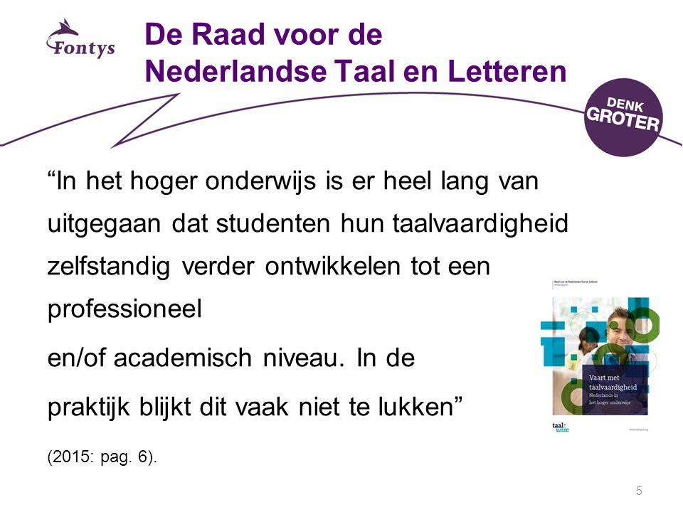 De Raad voor de Nederlandse Taal en Letteren