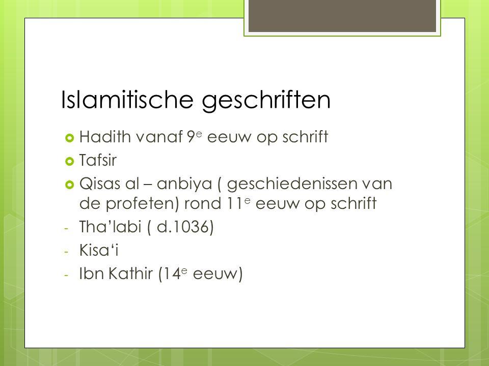 Islamitische geschriften