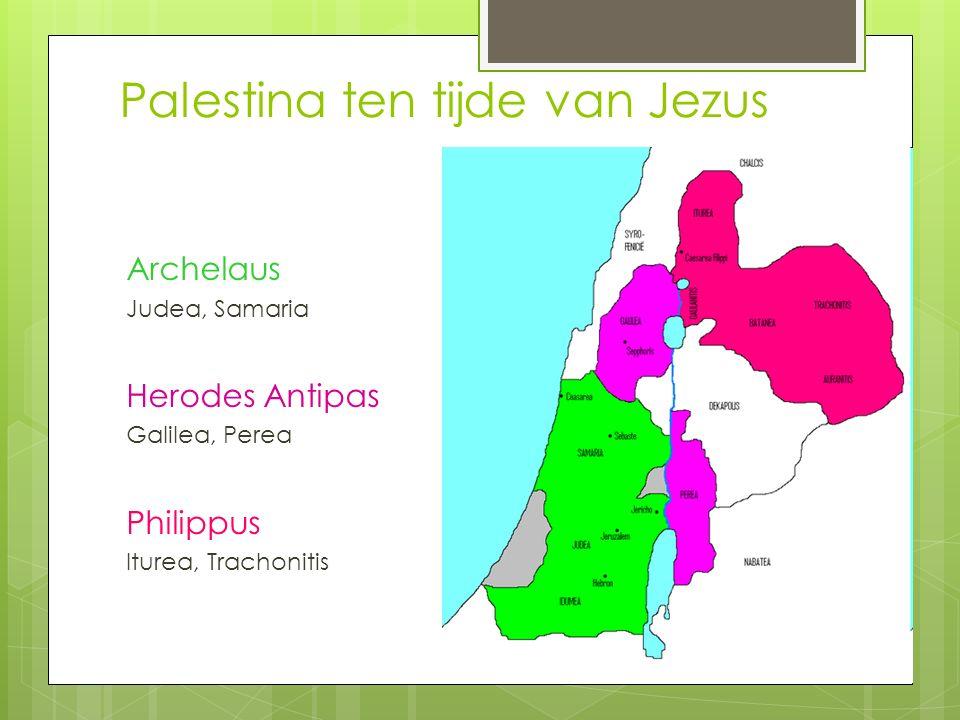 Palestina ten tijde van Jezus