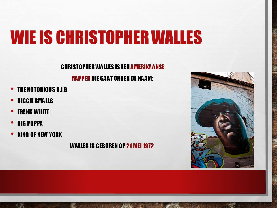 Wie is Christopher Walles