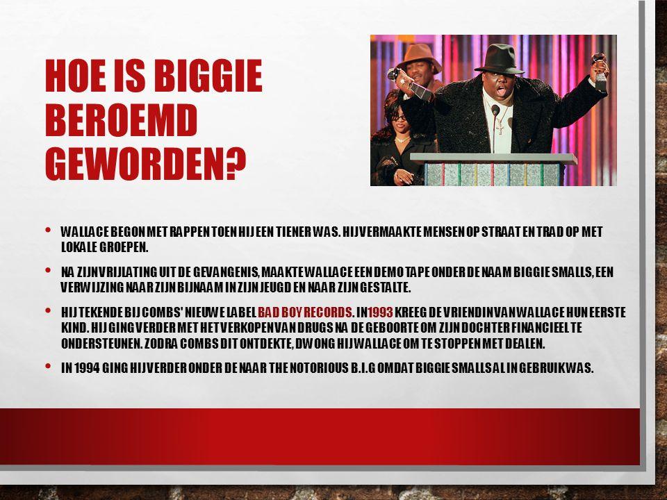 Hoe is Biggie beroemd geworden