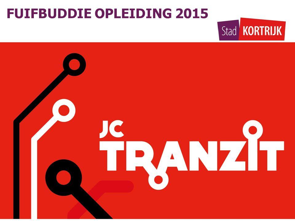 FUIFBUDDIE OPLEIDING 2015