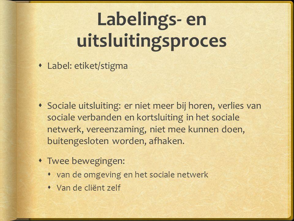 Labelings- en uitsluitingsproces