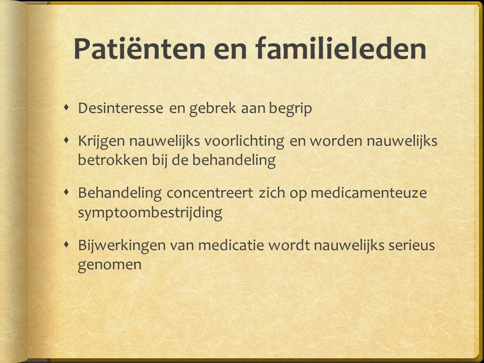 Patiënten en familieleden