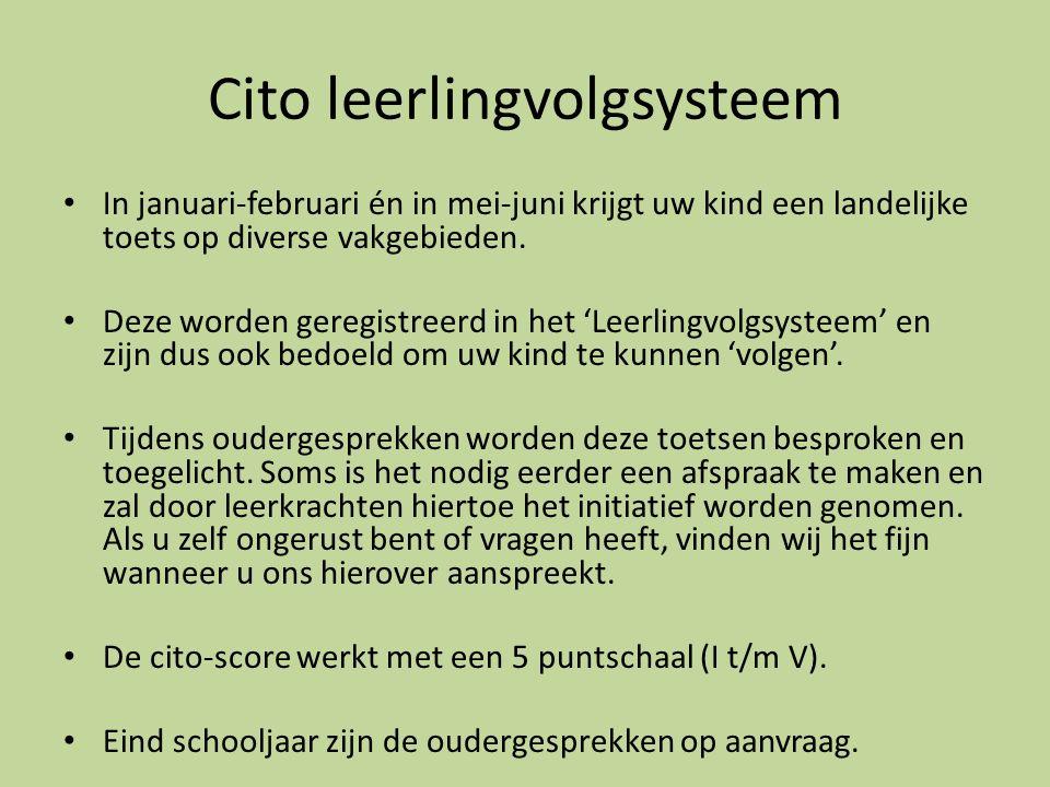 Cito leerlingvolgsysteem