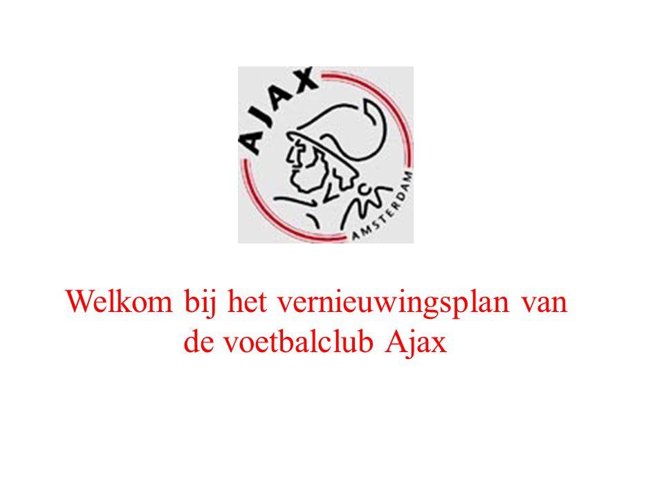 Welkom bij het vernieuwingsplan van de voetbalclub Ajax
