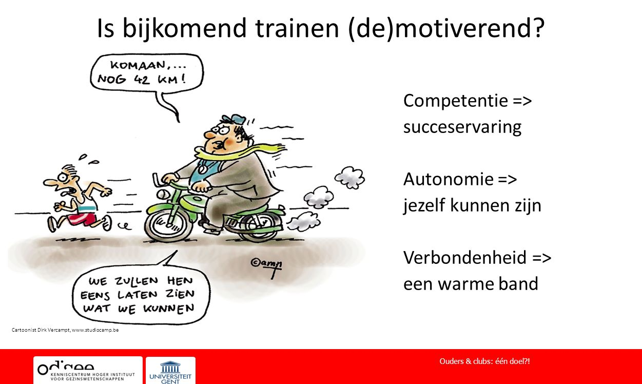 Is bijkomend trainen (de)motiverend