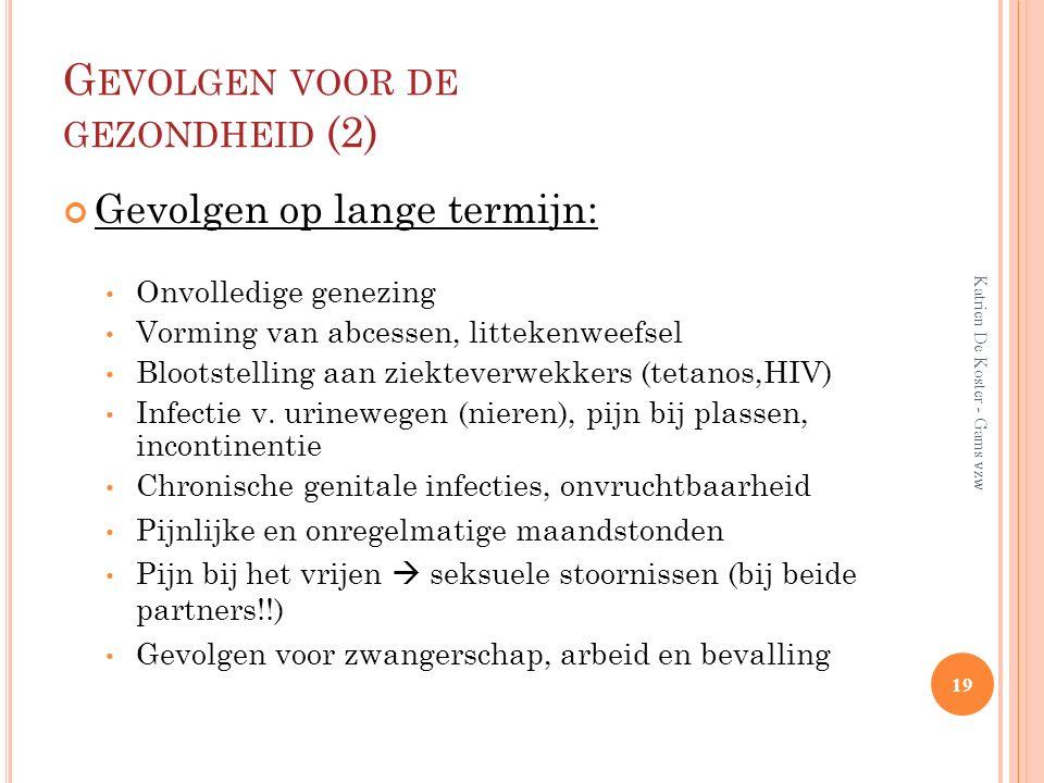 Gevolgen voor de gezondheid (2)