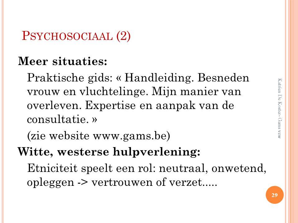 Psychosociaal (2)