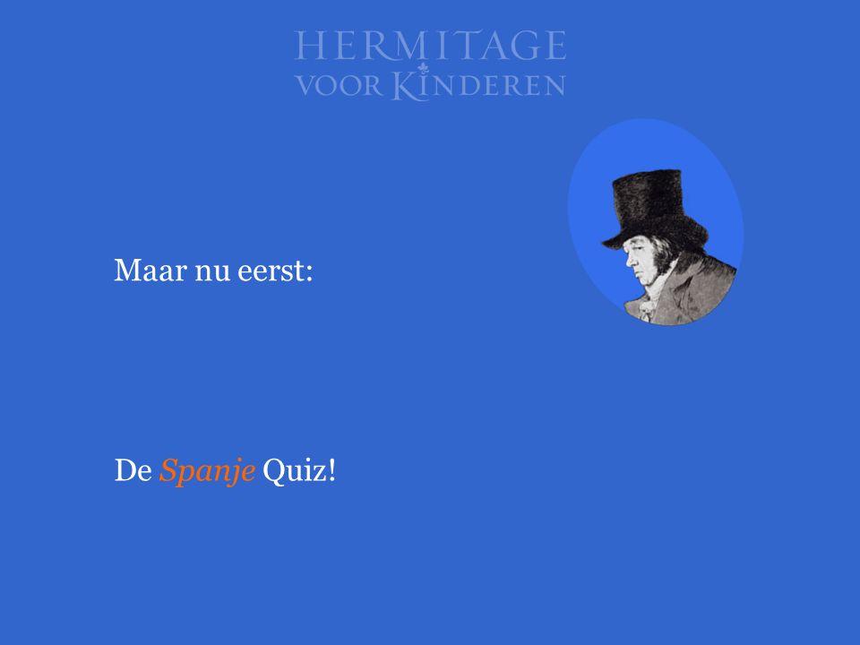 Maar nu eerst: De Spanje Quiz!