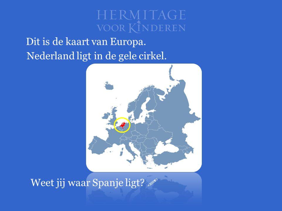 Dit is de kaart van Europa.