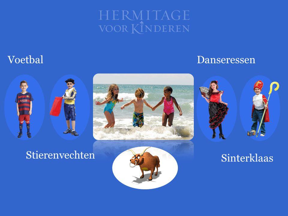 Voetbal Danseressen Stierenvechten Sinterklaas
