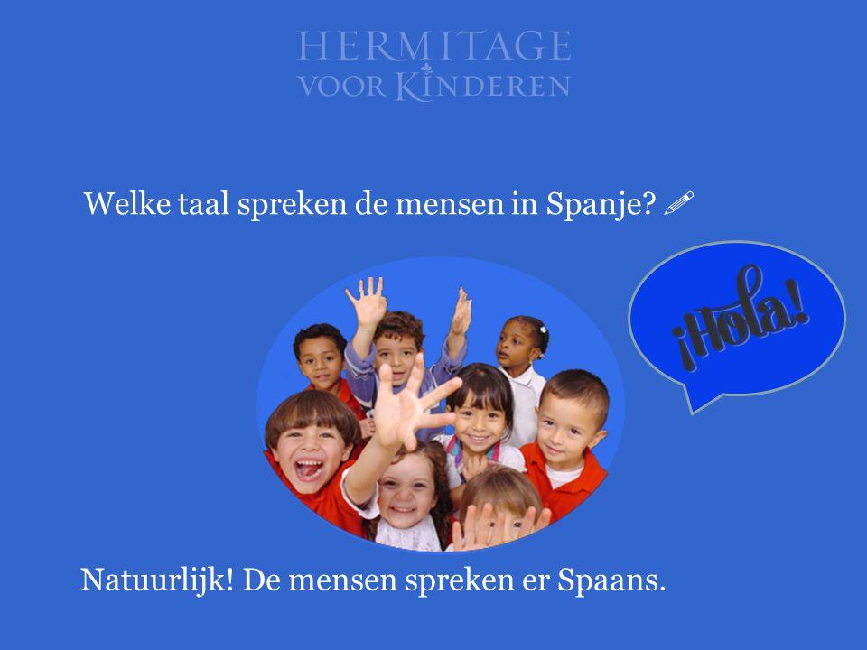 Welke taal spreken de mensen in Spanje 