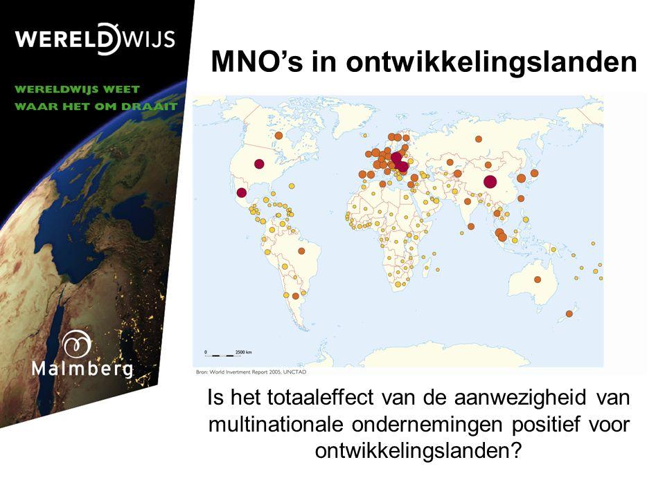 MNO's in ontwikkelingslanden