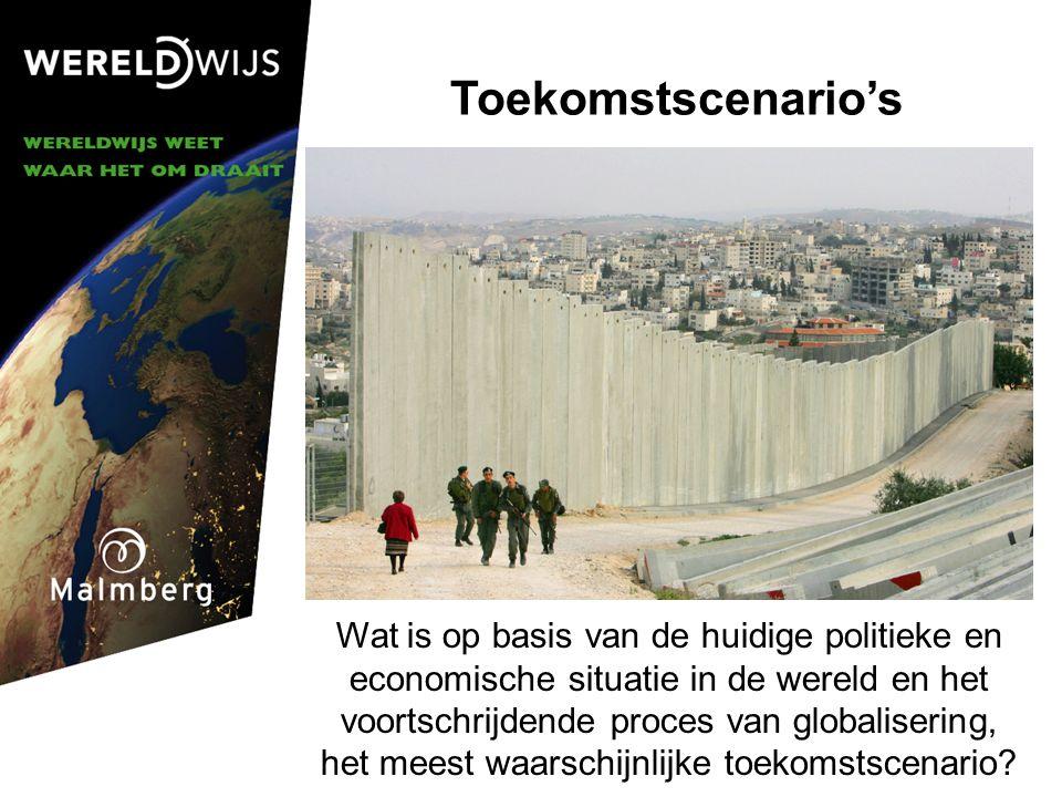 Toekomstscenario's © Malmberg 2006.