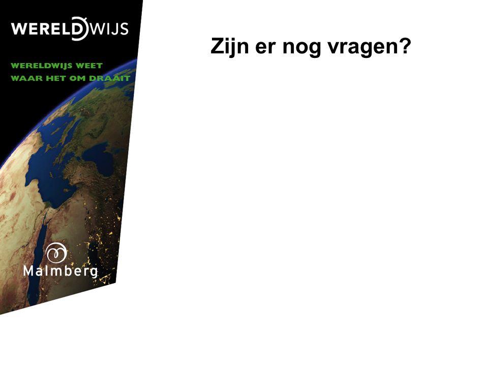 Zijn er nog vragen © Malmberg 2006