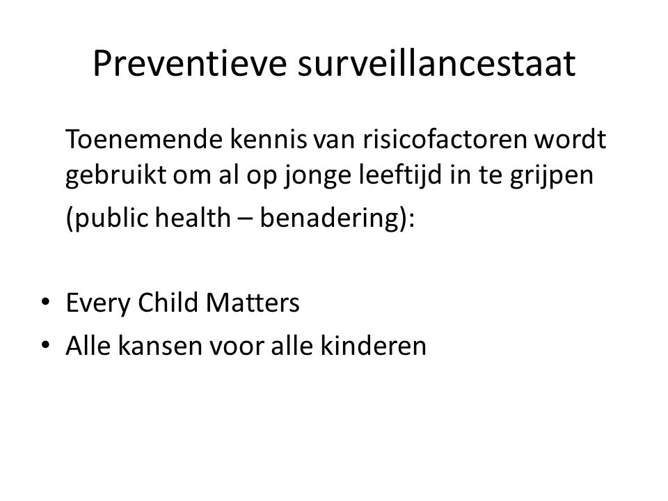 Preventieve surveillancestaat